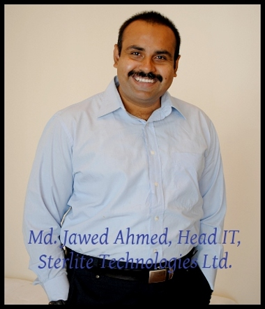 Sterlite Technologies Jawed Ahmed IT Head Virtualisation and Cloud 1